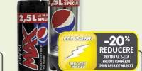Pepsi Max/Light bautura necarbogazoasa 2.5 L