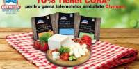 10% tichet Cora pentru gama telemelelor ambalate Olympus