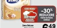 Zewa DeLuxe hartie igienica piersica/musetel