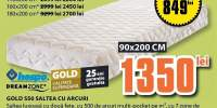 Saltea cu arcuri Gold S50