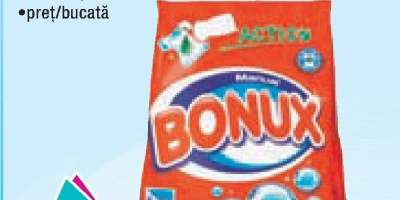 Detergent manual rufe Bonux