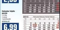 Calendar triptic perete Sigma