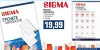 Etichete autoadezive Sigma