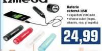Baterie externa USB Omega