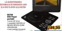 NS769 DVD player portabil