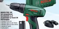 Set promotional surubelnita cu 2 acumulatori si trusa 39 biti/burghie Bosch PSR 12V