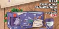 Pachet promo ciocolata, prajituri Milka