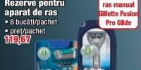 Rezerve pentru aparat de ras Gillette Fusion Pro Glide