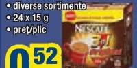 Cafea instant Nescafe 3 in 1