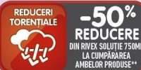 50% reducere la achizitionarea produselor Rivex!