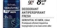Deodorant Antiperspirant Fresh Gerovital H3 Men
