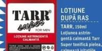 Lotiune dupa ras Tarr