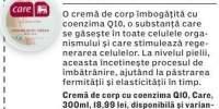 Crema de corp cu coenzima Q10 Care