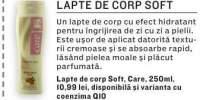 Lapte de corp Soft Care