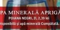 Apa minerala Apriga Poiana Negri