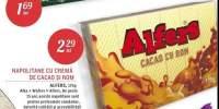 Napolitane cu crema de cacao si rom Alfers