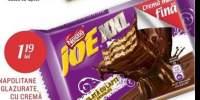 Napolitane glazurate cu crema de cacao Joe