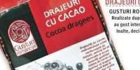 Drajeuri cu cacao Gusturi Romanesti