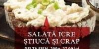 Salata de icre, stiuca si crap Delta Fish