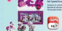 Set 3 ponei la nunta My Little Pony