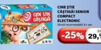 Joc Cine stie castiga! Senior Compact Electronic Noriel