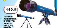 Telescop Astronomic si terestru 30/60x 50 milimetri, cu trepied
