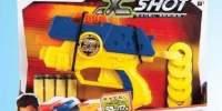 Pistol Dual Shot cu discuri si sageti