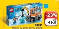 Masina cu senile pentru gheata Lego