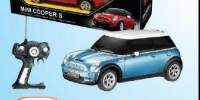 Masinuta R/C la scara 1:14 Mini Coopers Rastar