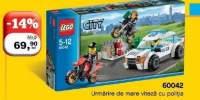 Urmarire de mare viteaza cu politia Lego
