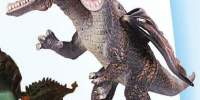 Dinozaur moale cu 2 capete si 3 aripi 37 centimtri