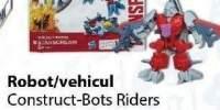 Robot/vehicul Construct-Bots Riders colectia de film