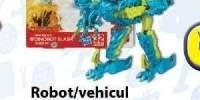 Robot/vehicul Construct-Bots Scout colectia de film