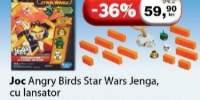 Joc Angry Birds Star-Wars Jenga cu lansator