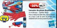 Lansator de panze de paienjen cu manusa Spider-Man