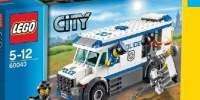 Masina pentru transportat prizonieri Lego