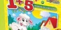Puzzle 1+5 60 de piese 'Coloreaza-ma' Miel