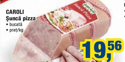 Caroli sunca pizza