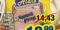 Aldis sunca Praga feliata