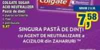Pasta de dinti Colgate sugar acid neutralizer