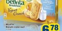 Biscuiti crema iaurt Belvita