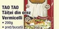 Taitei din orez Vermicelli Tao Tao