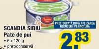 Pate de pui Scandia Sibiu
