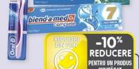 Blend-a-med/ Oral B pasta de dinti Complete 7 Mouthwash/ Extra Fresh si periuta de dinti 3D White Medium