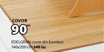 Edelgran covor din bambus