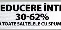 Reducere intre 30-62% la toate saltelele cu spuma