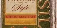 Ceai verde Vintage Christmas Tree Basilur