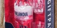 Vodca Finlandia + 2 pahare