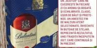 Whisky Ballantine's + 2 pahare