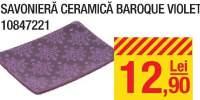 Savoniera ceramica Baroque violet